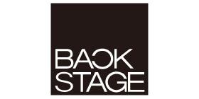 バックステージのロゴ