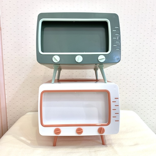 テレビ型ティッシュボックス1
